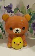 San-X Rilakkuma & Kiiroitori Yellow Bird Ceramic Coin Bank
