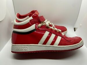 Mens Adidas Concord II Mid Red Size 10.5