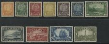 Canada 1929 Scroll/Bluenose/Parliament complete set unmounted mint never hinged