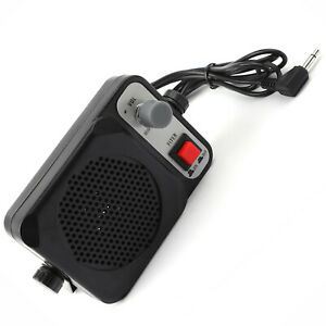 3.5mm Diamond Heavy Duty TS-750 External Speaker Kenwood ICOM YAESU QYT CB Radio