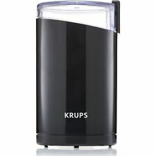 Krups F20342 Powerful Coffee Bean Spice Electric Grinder Stainless Blades Black