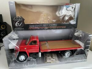 1975 Chevy C65 Heavy Duty Flatbed Tow Truck 1:16 Highway 61