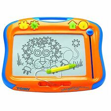 Tomy 6555 Megasketcher Classique Magnetic Drawing Board with Easy Carry Handle