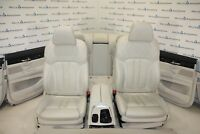 BMW G11 Comfort Pelle Sedili pelle Sedili Interni IN Pelle Nappa Elfenbeinweiss