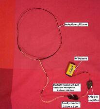 NEW Universal Bluetooth Headset Earpiece Micro Wireless Exam Test
