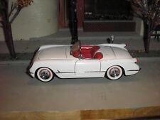 1/24 Franklin Mint 1953 '53 Chevy Corvette Roadster Convertible White Free Ship