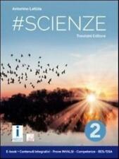 #scienze vol.2 Trevisini scuola media, codice:9788829216550