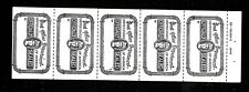 Hick Girl-M.N.H. U.S. Post Office Official Seals Booklet Pane Of 6 A1