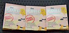 3x Benefit The Porefessional Pearl Primer Face Primer 3ml Samples Ipsy