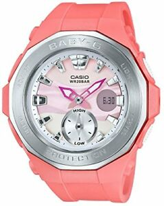 New Casio Baby-G Beach Glamping Pink-Silver BGA-220-4AJF