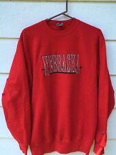 Vintage 80s University of Nebraska Cornhuskers 1980s Champion Sweatshirt (XL)