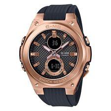 -NEW- Casio G-Shock Women's Black Analog / Digital Watch MSGC100G-1A