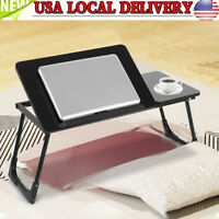Portable Laptop Desk Table Computer Notebook Stand Adjustable Foldable Bed Tray