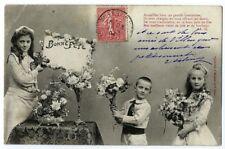 CPA  Fantaisie Bergeret Bonne Fête Enfants Postcard