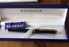 WATERMAN  Maestro Füllfederhalter FOUNTAIN PEN (M) schwarzlack in Etui (W35)