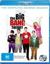 The Big Bang Theory: Season 2  - BLU-RAY - NEW Region B