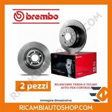 2 DISCHI FRENO ANTERIORE BREMBO FORD FOCUS SW 1.8 TDCI KW:74 2002>2004 09.7806.1
