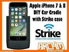 STRIKE ALPHA APPLE IPHONE 7 & 8 CAR CRADLE WITH STRIKE CASE DIY BUILT-IN CHARGER