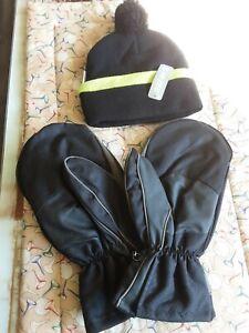 Hi Tec Bobble Hat  and Winter Mitts