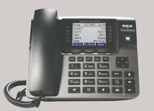 Rca U1100 4-Line Unison Wireless Add On Corded Business Desk Phone for U1000 New