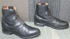 New listing Wmns ARIAT Devon Nitro Black Leather Paddock Boots sz 11 B