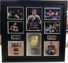 Katie Taylor Signed & FRAMED Boxing GLOVE AFTAL COA (A)