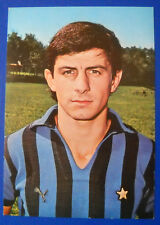 Postcard Official Football-inter 1977/78 - Carlo today - 10,6x15,3 cm.
