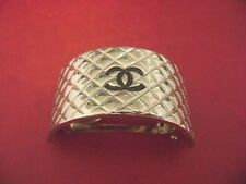 Chanel CC Logos silver color Barrettes Hair Pin