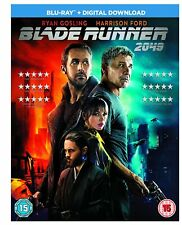 Blade Runner 2049 BLU-RAY + Digital Download Film - New Sealed