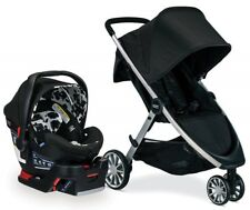 Britax B-Lively Stroller B-Safe Ultra Infant Car Seat Travel System Cowmooflage