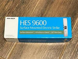 ASSA ABLOY HES 9600-630 Surface Mounted Electric Strike Satin Stainless Steel