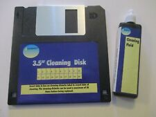 """NEW GEMBIRD 3.5"""" Floppy Disc Drive Head Cleaning Kit (disk drive cleaner) PC"""