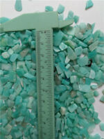 Amazonite QUARTZ crystal, 7-9mm tumbled,  1/2lb bulk xmini stones  Chips healing