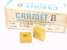 NEW SURPLUS 9PCS. CARMET  SNMG 543E  GRADE: CA9443  CARBIDE INSERTS