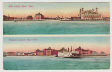 ELLIS ISLAND & FERRY BOAT TO RANDALL'S ISLAND IN EAST RIVER, NYC