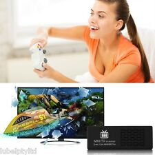 MK808B Plus Android Mini PC Smart TV Dongle Box Quad Core YouTube Netflix Wifi