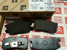 PEUGEOT 4007 4008 CITROEN C-CROSSER C4 AIRCROSS REAR BRAKE PADS 425448