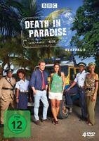DEATH IN PARADISE-STAFFEL 8 - DEATH IN PARADISE  4 DVD NEU