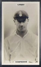 PHILLIPS-CRICKET ERS BROWN BACK F192-#185c- HAMPSHIRE - LIVSEY