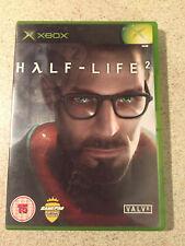 Xbox Original Pal Game HALF LIFE 2 with Box Manual