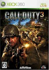 Gebraucht Xbox360 Call Of Duty 3 97009 Japan Import