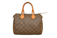 Louis Vuitton Monogram Speedy 25 Hand Bag M41528 - F01187