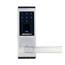 Ardwolf A20 Security Biometric Fingerprint Lock LED Backlit RIGHT handed ONLY!!.