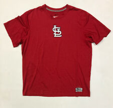 St. Louis Cardinals Nike Dri Fit Shirt Size Large