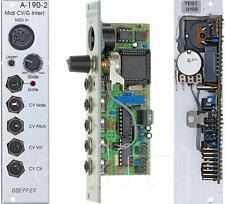 Doepfer A-190-2 Midi-to-Cv/Gate Interface : Eurorack : New : [Detroit Modular]