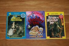 Lot of 3 books Howliday Inn & Return to Howliday Inn Nighty-Nightmare James Howe