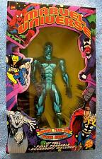 10 INCH SILVER SURFER TEAM-UPS MARVEL UNIVERSE COMICS DELUXE FIGURE TOY BIZ