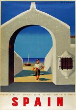 Tw98 Vintage Estocolmo Suecia sueco de viajes Poster volver a imprimir a1//a2//a3