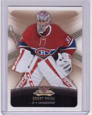 🔥 CAREY PRICE 15/16 Fleer Showcase Hockey Base Card #51 Montreal Canadiens 🔥
