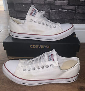 Converse All Star White Size 11